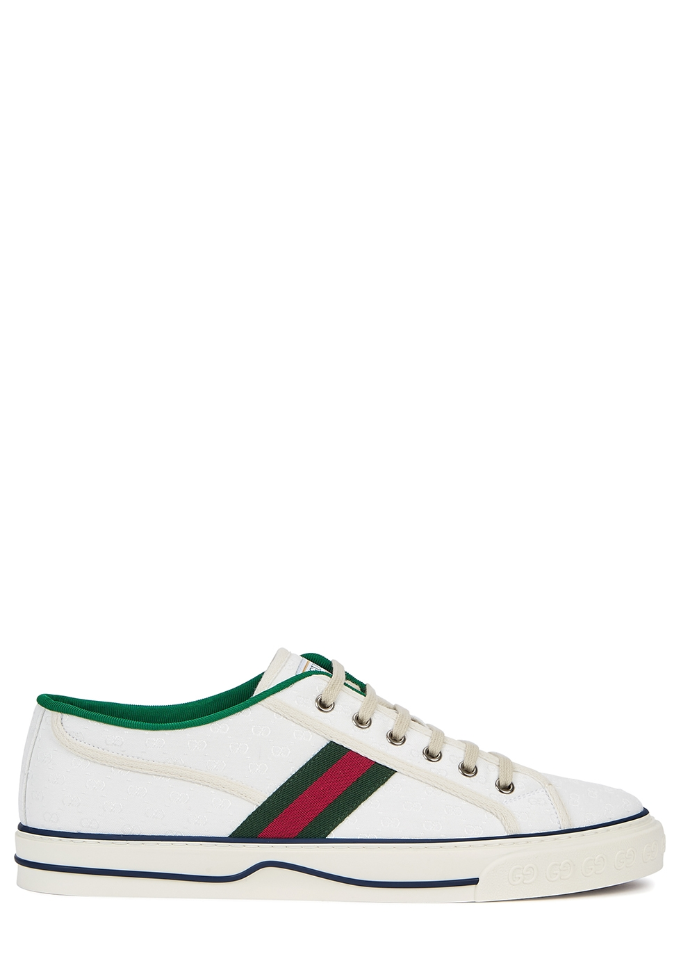 GG Mignon 25 monogrammed canvas sneakers