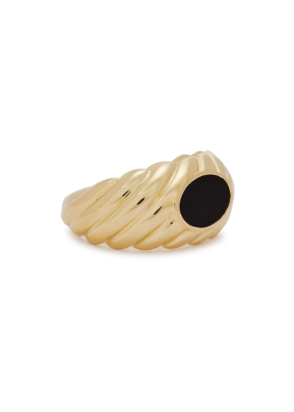 Tere 18kt gold-plated ring