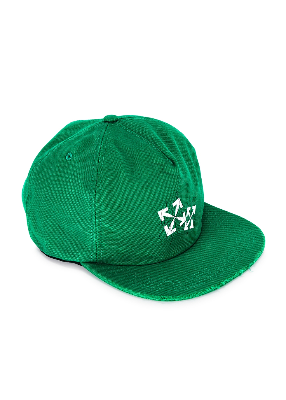 Fence Arrows green canvas cap