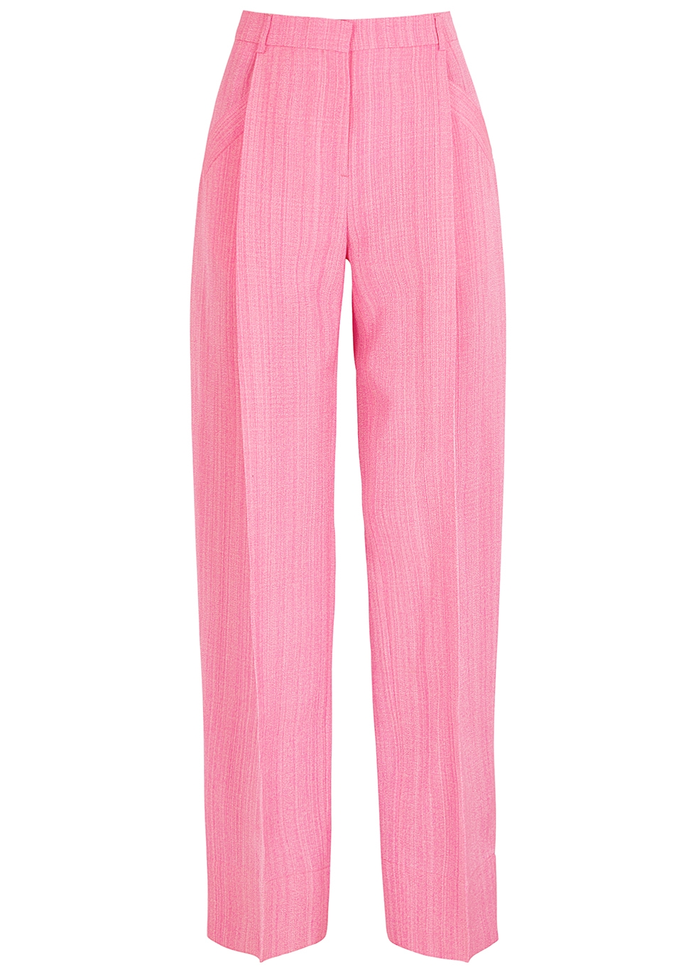 Le Pantalon Loya pink wide-leg trousers