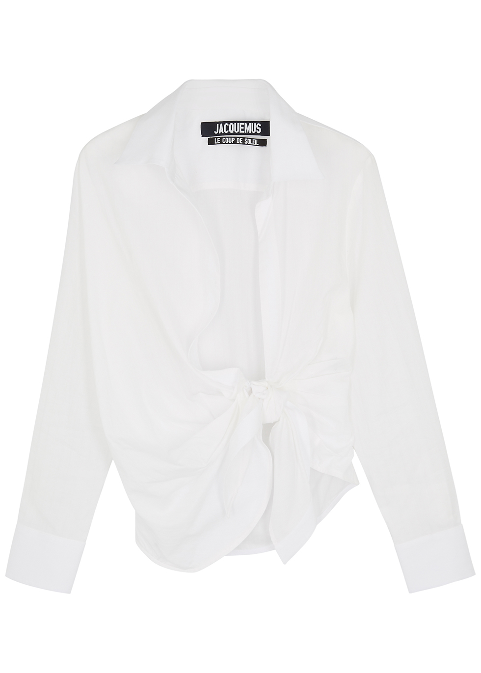 La Chemise Bahia white cotton shirt
