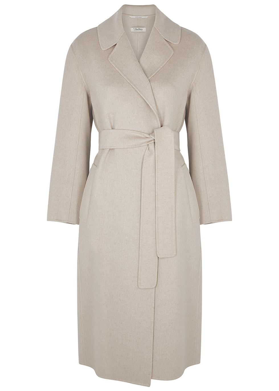 Lugano stone wool coat