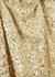 Heather gold sequin mini dress - Retrofête