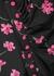 Nour floral-print one-shoulder dress - MARCIA