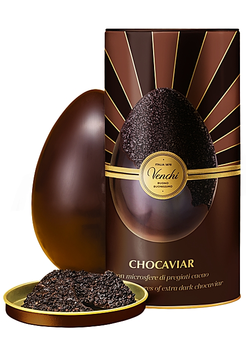 VENCHI Chocaviar 75% Dark Chocolate Easter Egg