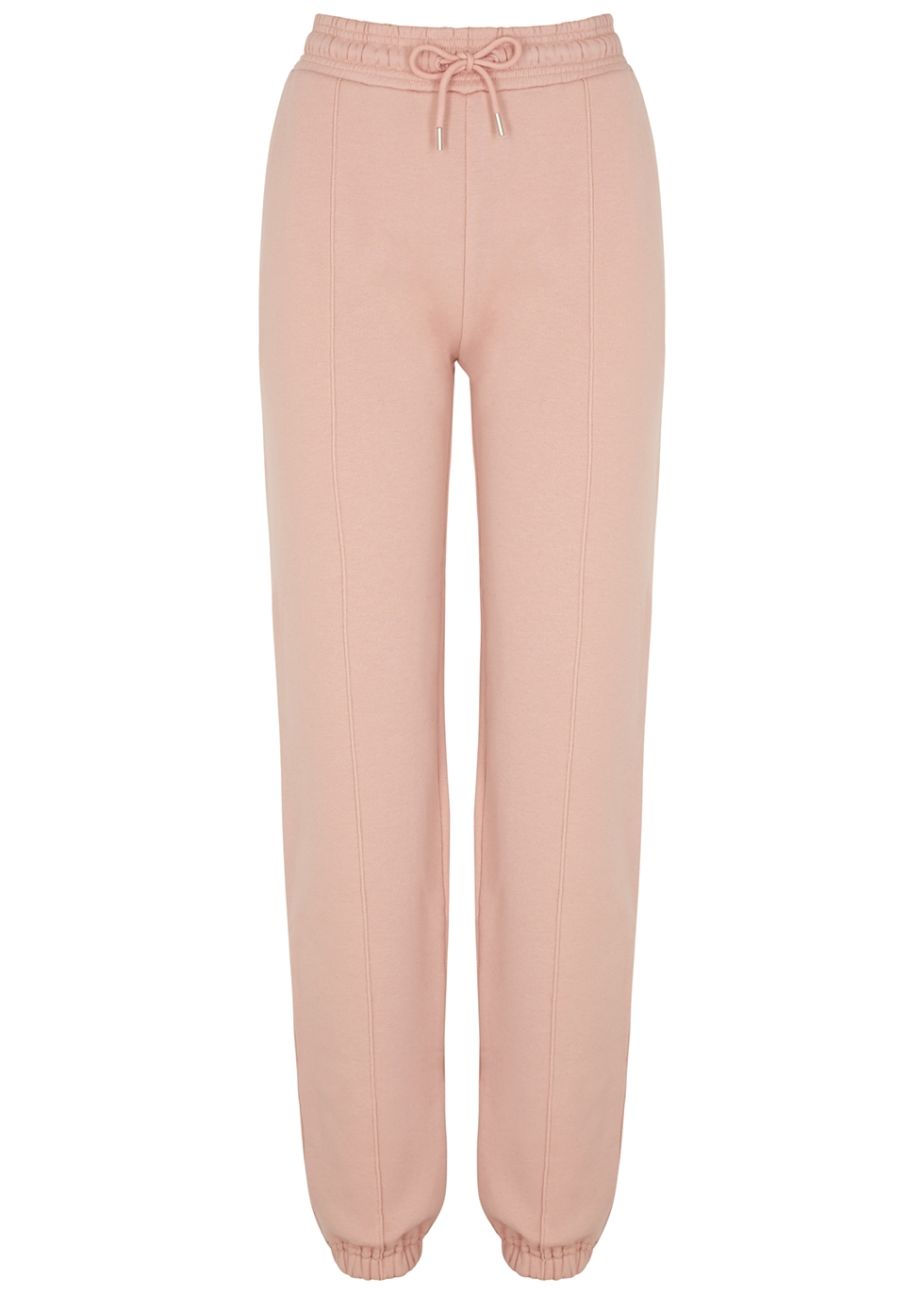 Light pink cotton sweatpants
