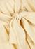 Erica colour-block linen-blend mini dress - Lisa Marie Fernandez