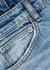 Chitch blue distressed slim-leg jeans - ksubi