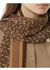 Monogram print silk chiffon scarf - Burberry