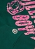 Dark green logo-print cotton sweatshirt - Billionaire Boys Club