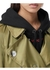 Press-stud detail econyl® trench coat - Burberry