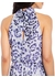 Watercolor leopard bias dress - Adrianna Papell