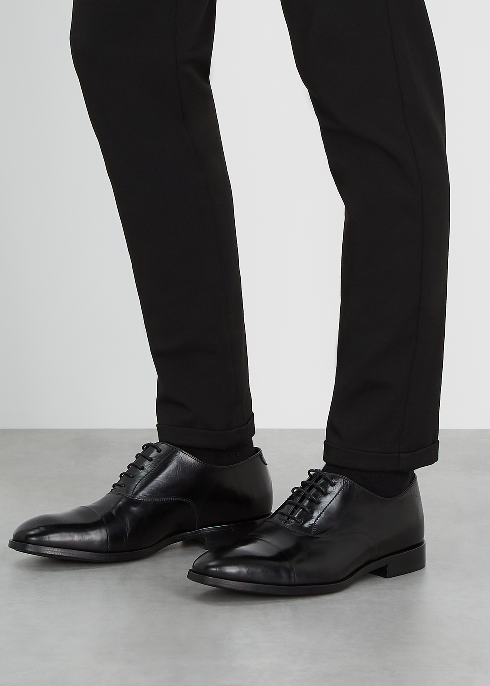 Paul Smith Brent black leather Oxford