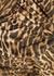 Leopard-print metallic jersey gown - Alexandre Vauthier
