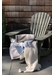 Striped cotton throw 130x170 - Lexington