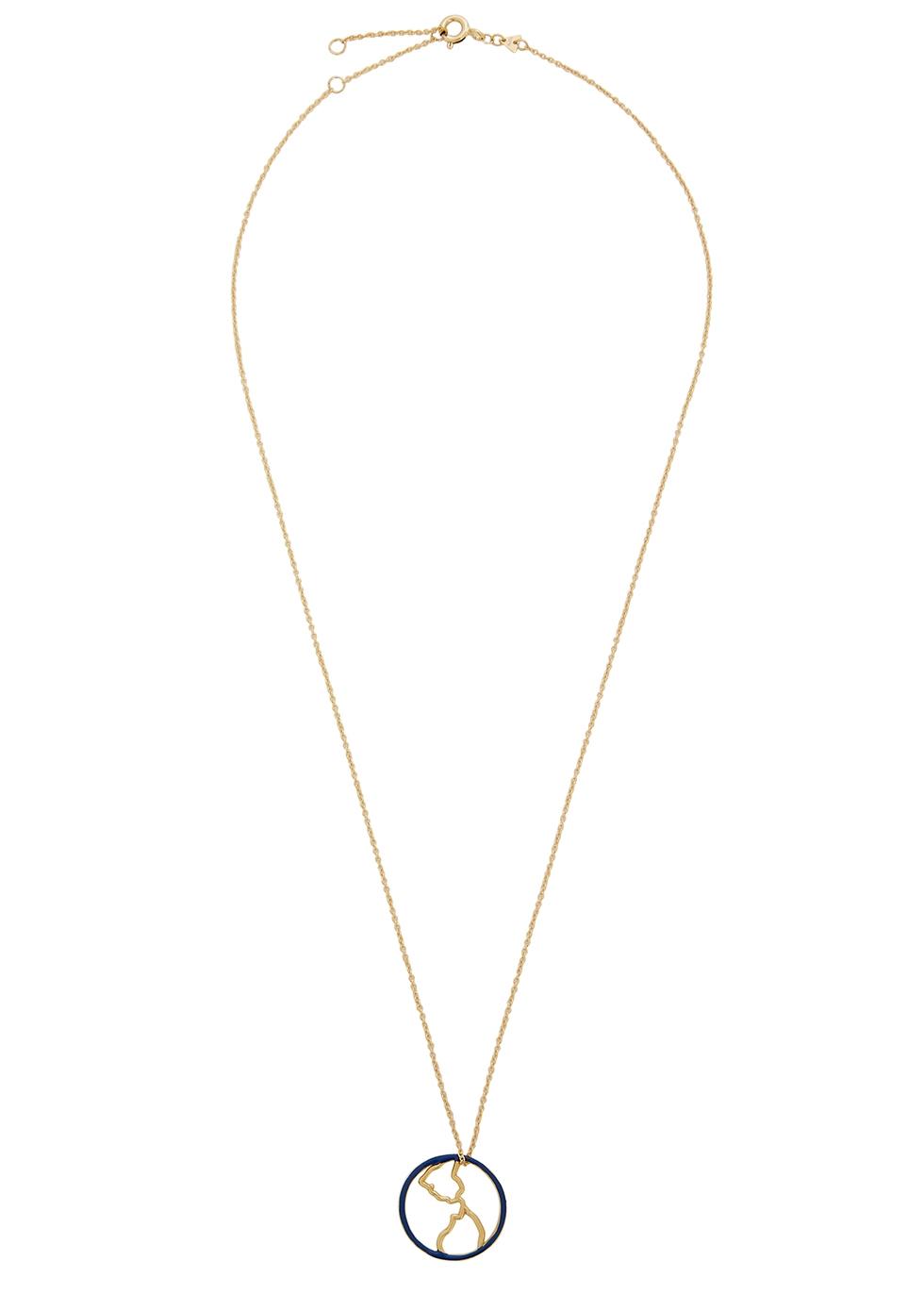 Mundo 9kt gold necklace