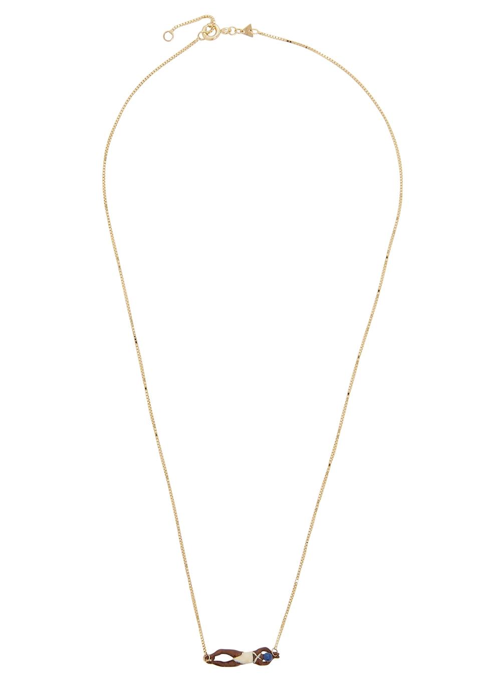 Nadadora Completo 9kt gold necklace