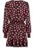 Petal crepe wrap ruffle dress - MICHAEL Michael Kors