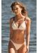 St barths colour block bikini top cream - Valimare
