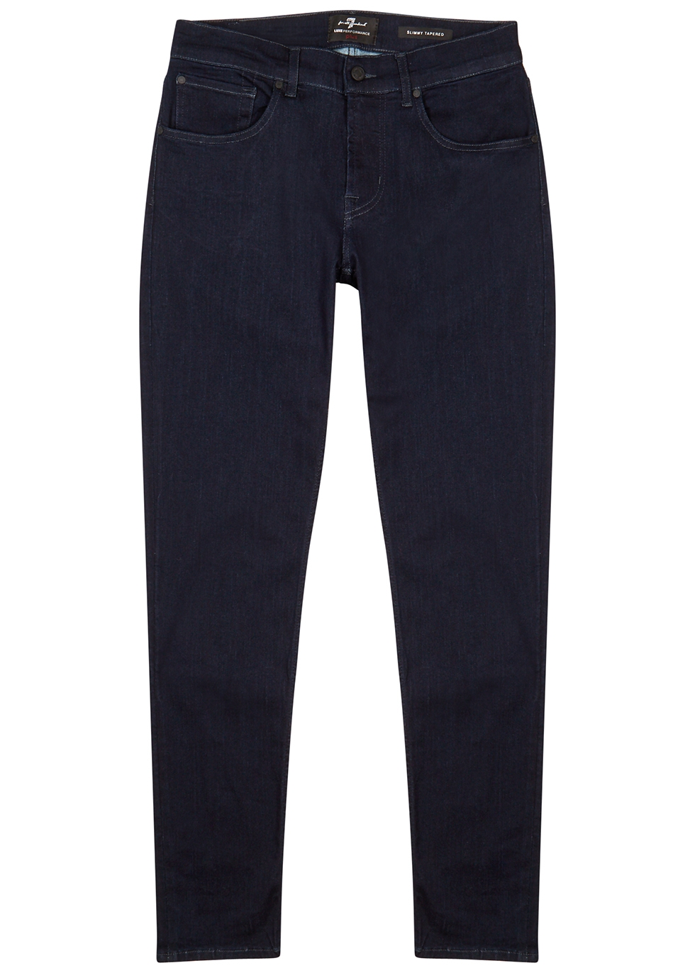 Slimmy Tapered Luxe Performance slim-leg jeans