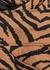 Kellam zebra-print bra top - Varley