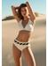 Portofino cross bandage bikini top cream - Valimare