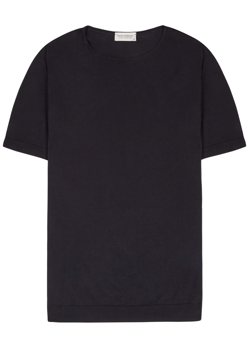 Belden black cotton T-shirt