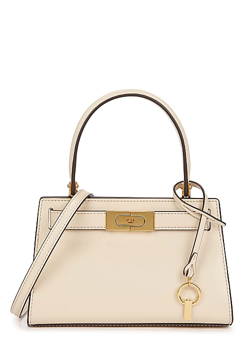 Petite Leather Bag Cream