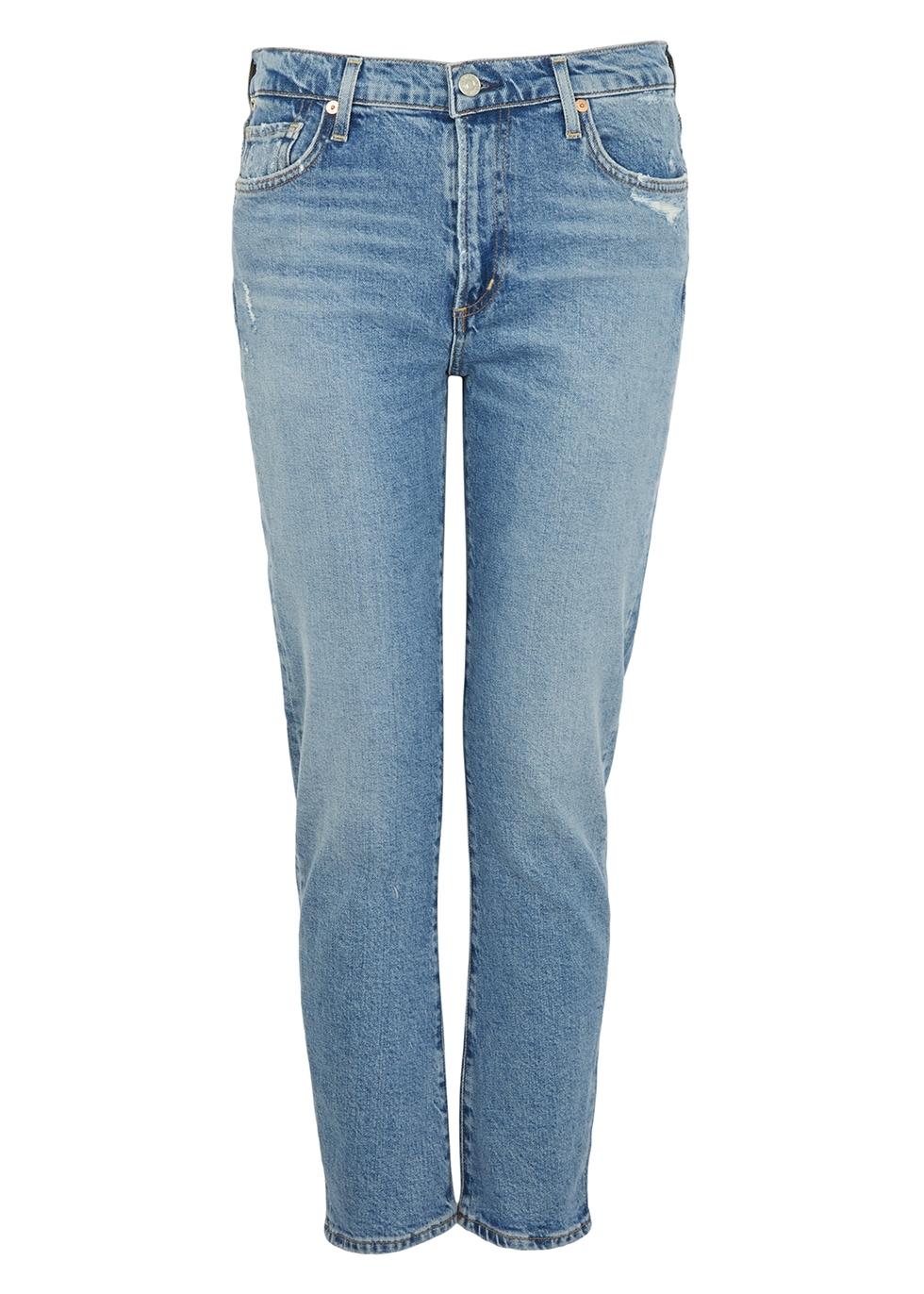 Harlow blue slim-leg jeans