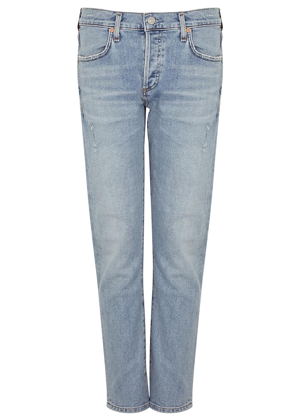 Emerson blue slim boyfriend jeans
