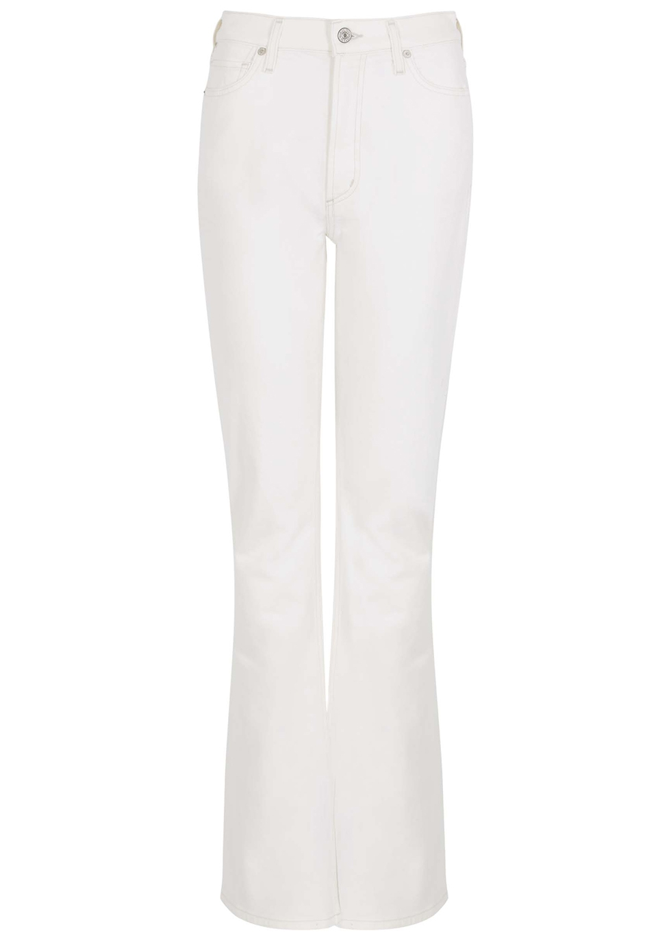 Georgia white bootcut jeans