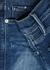 Le Sylvie Crop blue straight-leg jeans - Frame