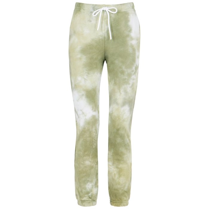 Cotton Citizen MILAN TIE-DYE COTTON SWEATPANTS