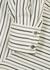 Bianca striped silk crepe de chine blouse - Isabel Marant