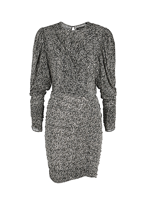 Ghita printed stretch-jersey mini dress - Isabel Marant
