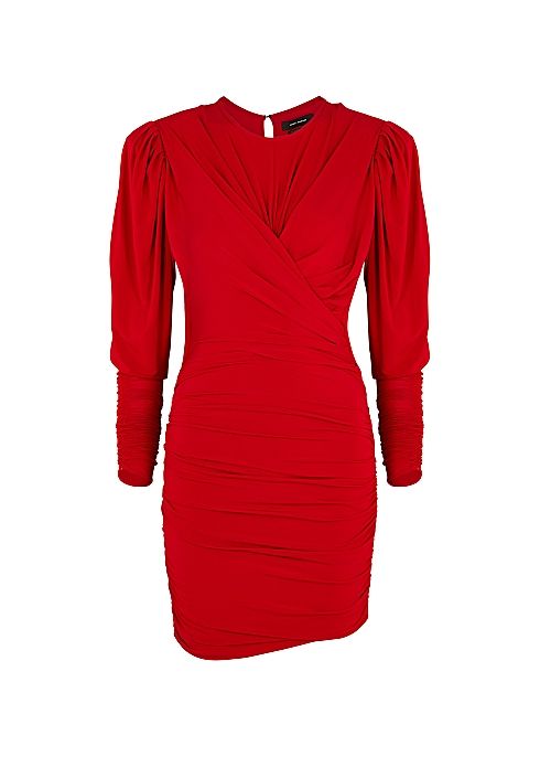 Ghita red stretch-jersey mini dress - Isabel Marant