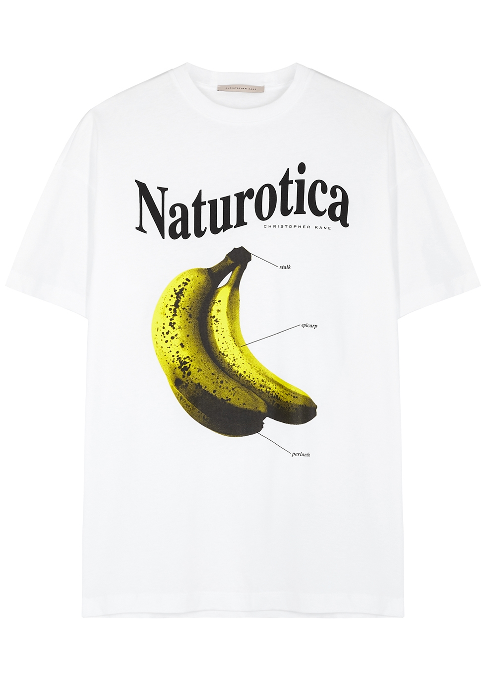 Naturotica printed cotton T-shirt