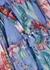 Bellitude floral-print silk mini dress - Zimmermann