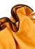 Flamenco yellow python clutch - Loewe