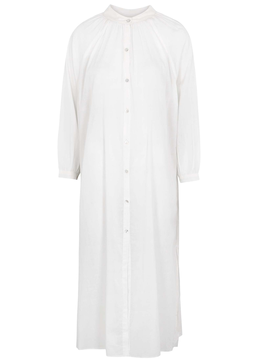 Migjorn white cotton dress