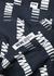 Thor navy logo-print cotton shirt - Wood Wood