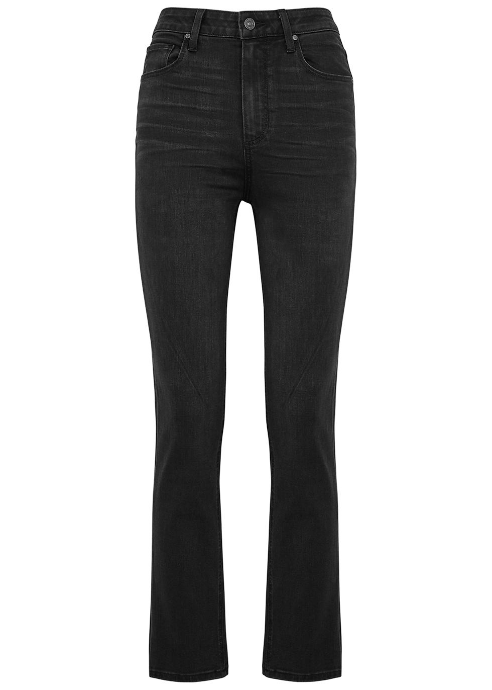 Sarah black slim-leg jeans