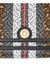 Monogram stripe e-canvas note crossbody bag - Burberry