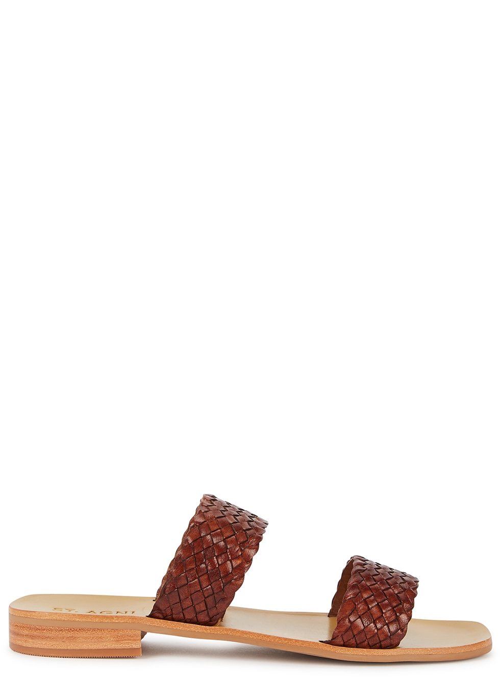 Piers 40 brown woven leather sandals