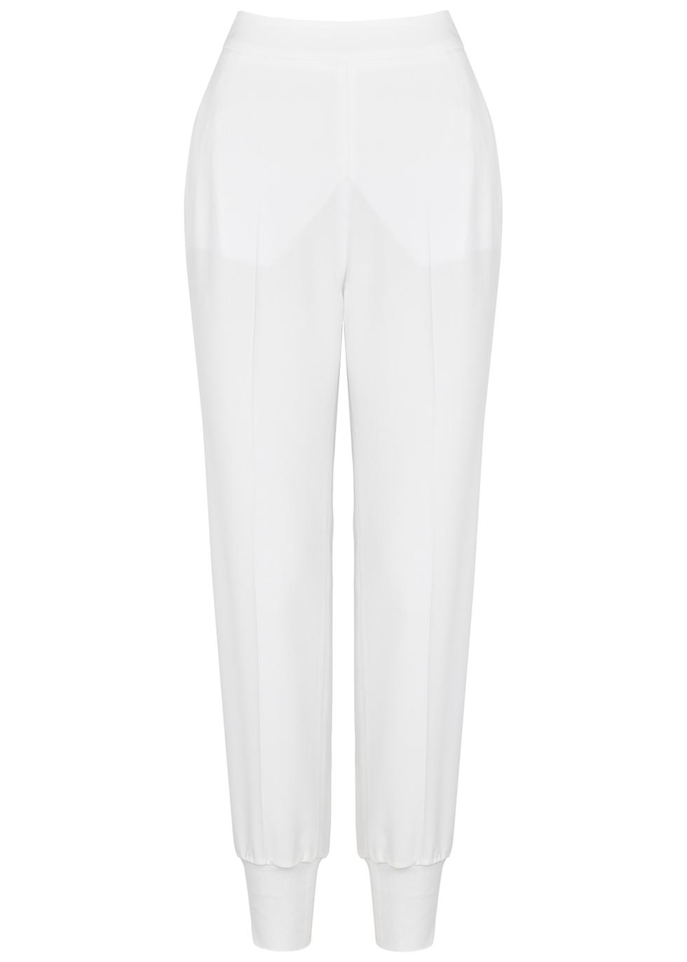 Julia white sweatpants