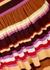 Joel striped stretch-jersey midi dress - Stine Goya