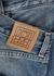 Studio blue straight-leg jeans - Totême
