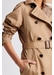 Domenica - belted cotton canvas trench - Gerard Darel