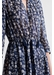 Stany - long printed cotton and silk dress - Gerard Darel