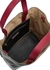 Tri-tone leather top handle bag - Marni